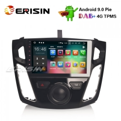 "Erisin ES4895F 9"" Ford Focus Android 9.0 Автомобильный радиоприемник GPS DAB + DVR WiFi OBD2 DTV Bluetooth стерео 4G"