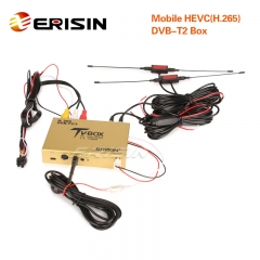 Erisin ES338-HC Touch Screen Control Car Mobile Digitale HDTV DVB-T2 Receiver