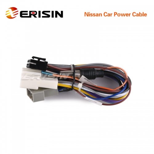 Erisin Nissan-Cable1 Nissan Car Power Cable for ES7610M and ES9610A