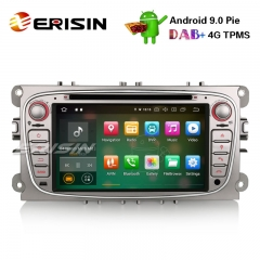 "Erisin ES7909FS 7"" Android 9.0 Автомагнитола GPS DAB + DVD CD Canbus SD для Ford Focus C / S-Max Mondeo Galaxy"