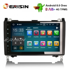 "Erisin ES7901B 9"" Android 9.0 Авторадио Mercedes Benz A / B Класс Спринтер Viano Vito DAB + GPS"