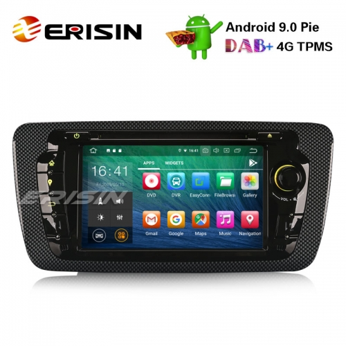 "Erisin ES7922S 7"" Android 9.0 Автомагнитола GPS Wifi DAB + Canbus SD BT OBD2 DVB-T2 CD DVD для SEAT IBIZA"