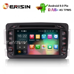 Erisin ES7963C Android 9.0 Автомобильный стерео GPS DAB + BT CD Mercedes Benz C / CLK / G Класс W203 Vito Viano