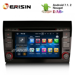 "Erisin ES3771F 7"" Android 7.1 Autoradio Car DVD GPS Navigation DAB+ DVR System for FIAT BRAVO"