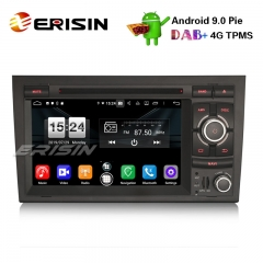 "Erisin ES7738A 7"" Android 9.0 Автомобильный DVD Стерео DAB + 4G GPS Sat Nav для Audi A4 S4 RS4 Seat Exeo"