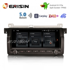 "Erisin ES1889B 8.8 ""Android 9.0 Pie OS Автомобильный TPMS 4G GPS DAB + BT5.0 Carplay для E46"