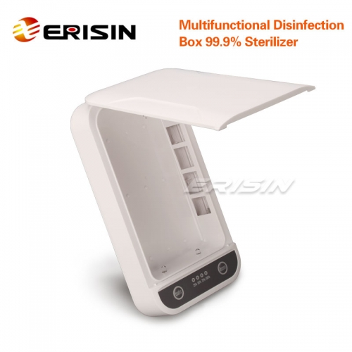Erisin ES130 Multifunctional disinfection Box 99.9% Sterilizer SmartPhone/Masks Ultraviolet UV-C Aromatherapy