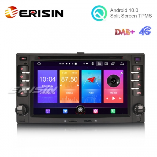 "Erisin ES2732K 6.2"" Android 10.0 Car DVD GPS System 4G DAB+ CarPlay+ Auto Radio for Kia SORENTO MAGENTIS Rando CERATO"