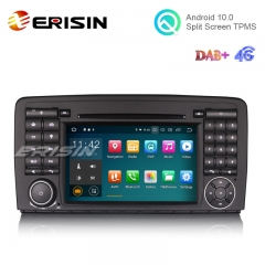 "Erisin ES5181R 7"" Android 10.0 Car DVD for Mercedes Benz R-Class W251 GPS DAB+ 2G 16G TPMS DVR"